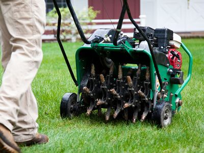 Water, Compaction, Seeding and Turf